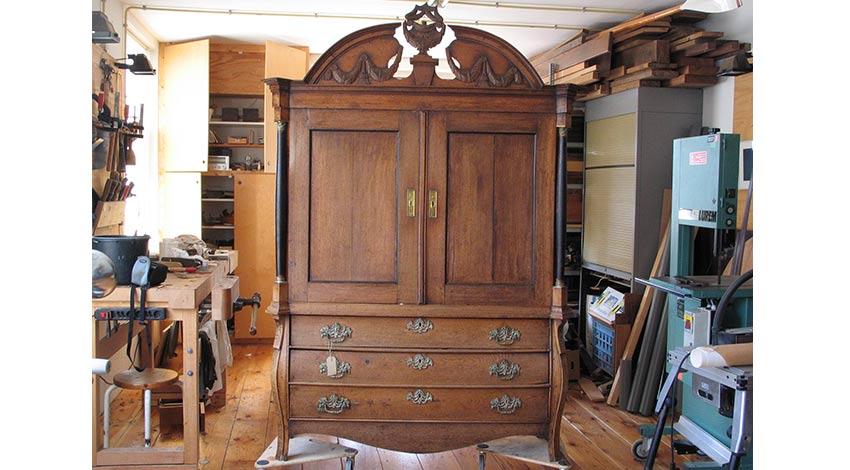 eiken kabinet meubel restauratie (1)