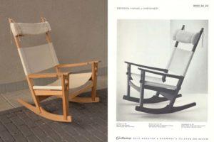 Hans j Wegner getama 673 rocking chair reconstruction repair